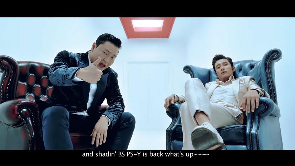 [1080P]  PSY - I LUV IT 官方完整版MV