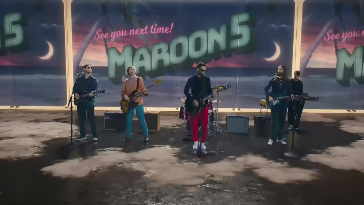 [1080P] Maroon 5 - Three Little Birds (Official Video)