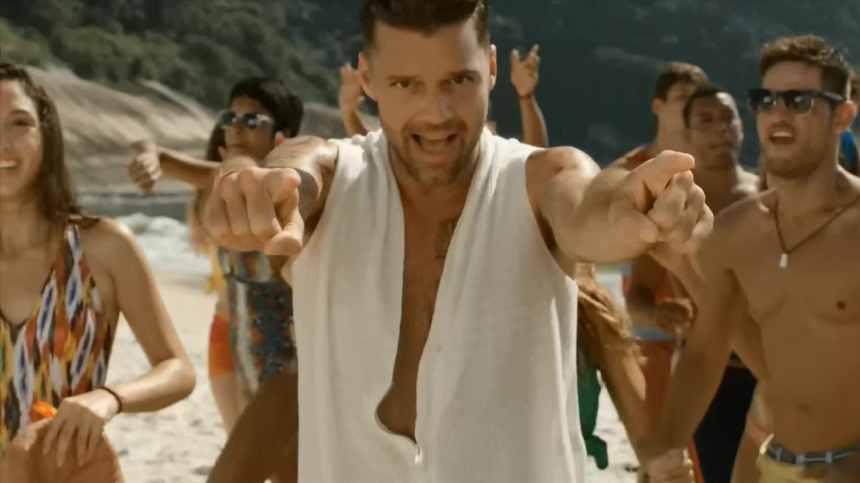 [1080P]世界杯歌曲系列 Ricky Martin - Vida (Official Video)