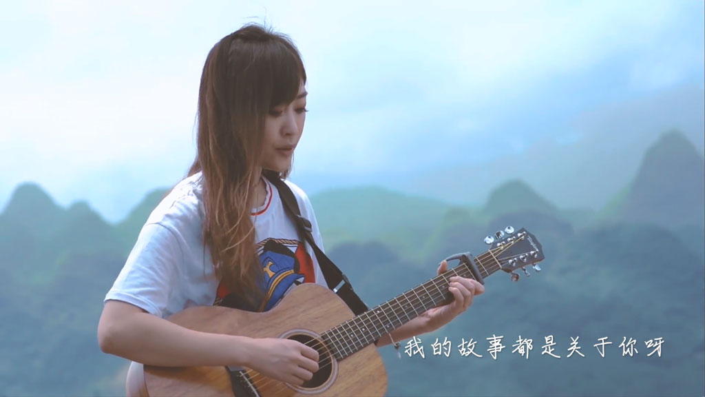 [1080P] 刘艺佳 纸短情长(Cover翻唱烟把儿)官方完整版MV