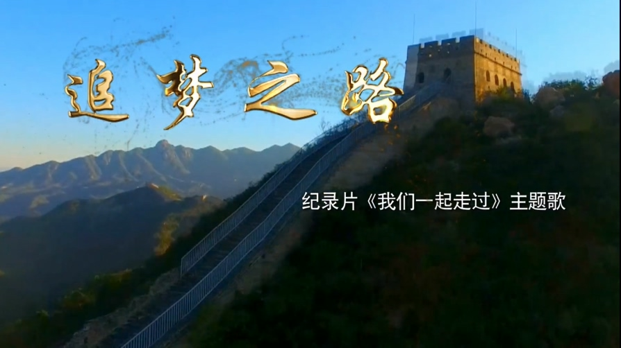 [1080P] 谭维维 - 追梦之路 大型电视纪录片《我们一起走过》主题歌
