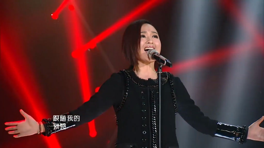 [1080P] 周笔畅《光之翼》单曲纯享《我是歌手2》官方无台标版