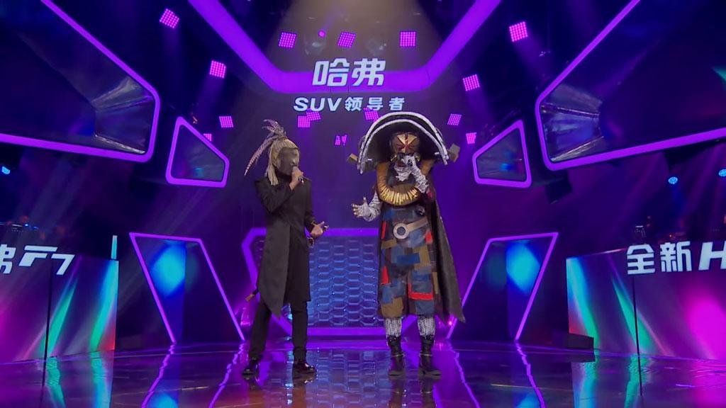 [1080P] 韩东君&屠洪刚《一笑而过》蒙面唱将猜猜猜S3第三季 官方无台标版