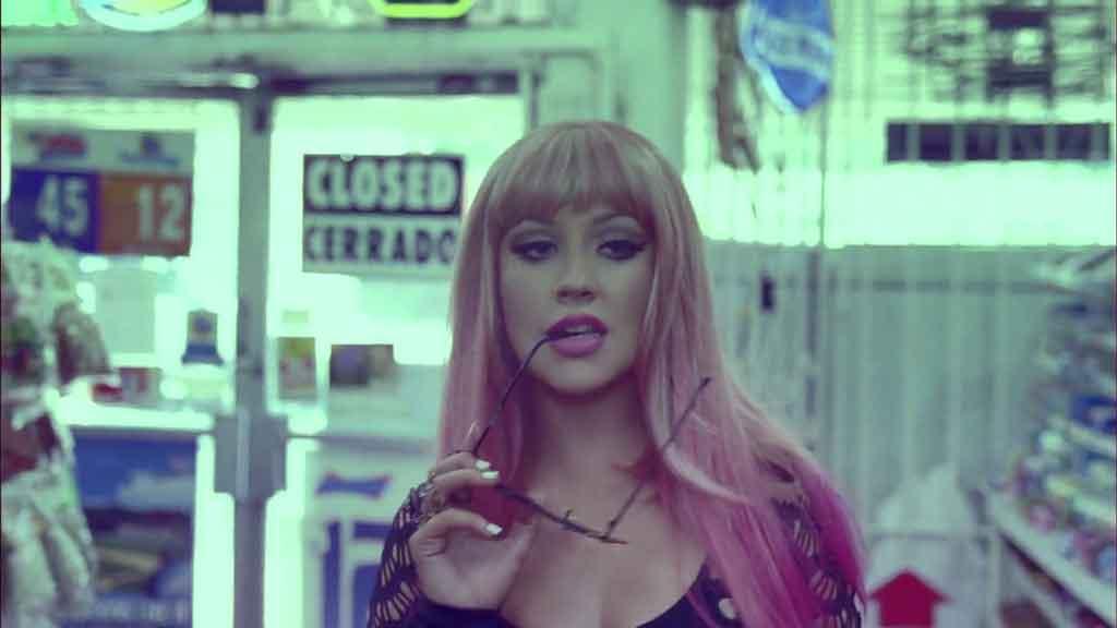 [1080P]  Christina Aguilera - Your Body 官方HD-MV