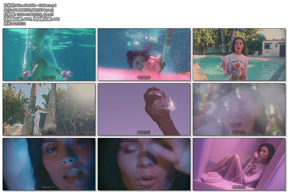 [1080P] Nina Nesbitt - Colder (Official Video)