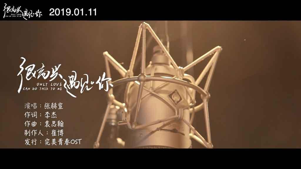 [1080P] 张赫宣 - 很高兴遇见你 电影《很高兴遇见你》推广曲