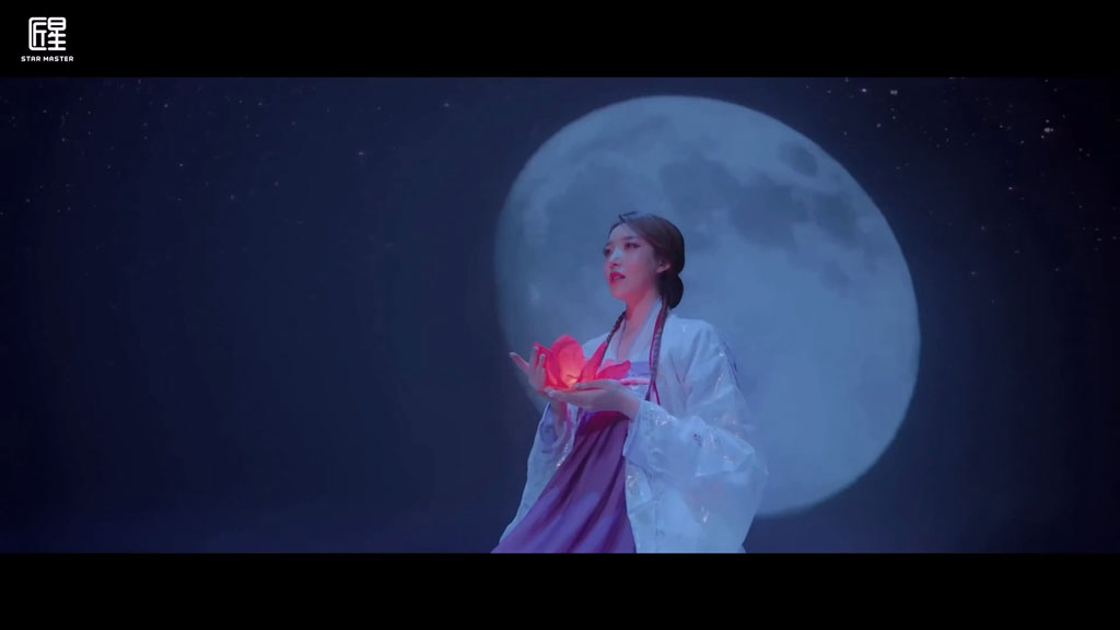 [1080P] 喜祺 - 月亮(少年锦衣卫印象曲)官方版高清MV