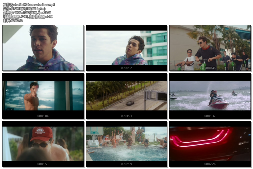 [1080P] Austin Mahone - Anxious (Official Video)