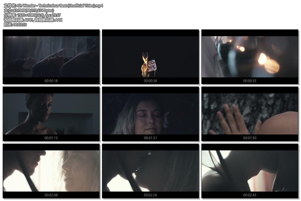 [1080P] Oh Wonder - Technicolour Beat (Unofficial Video)