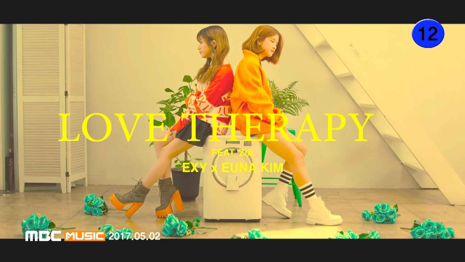 [1080P] Exy&Euna Kim - LOVE THERAPY( Bugs - 359M)