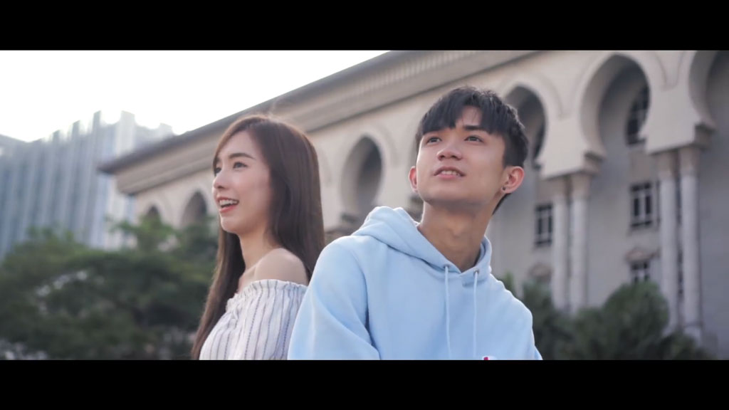 [1080P] 郑意文&郭健荣《123我爱你》抖音热门歌曲MV