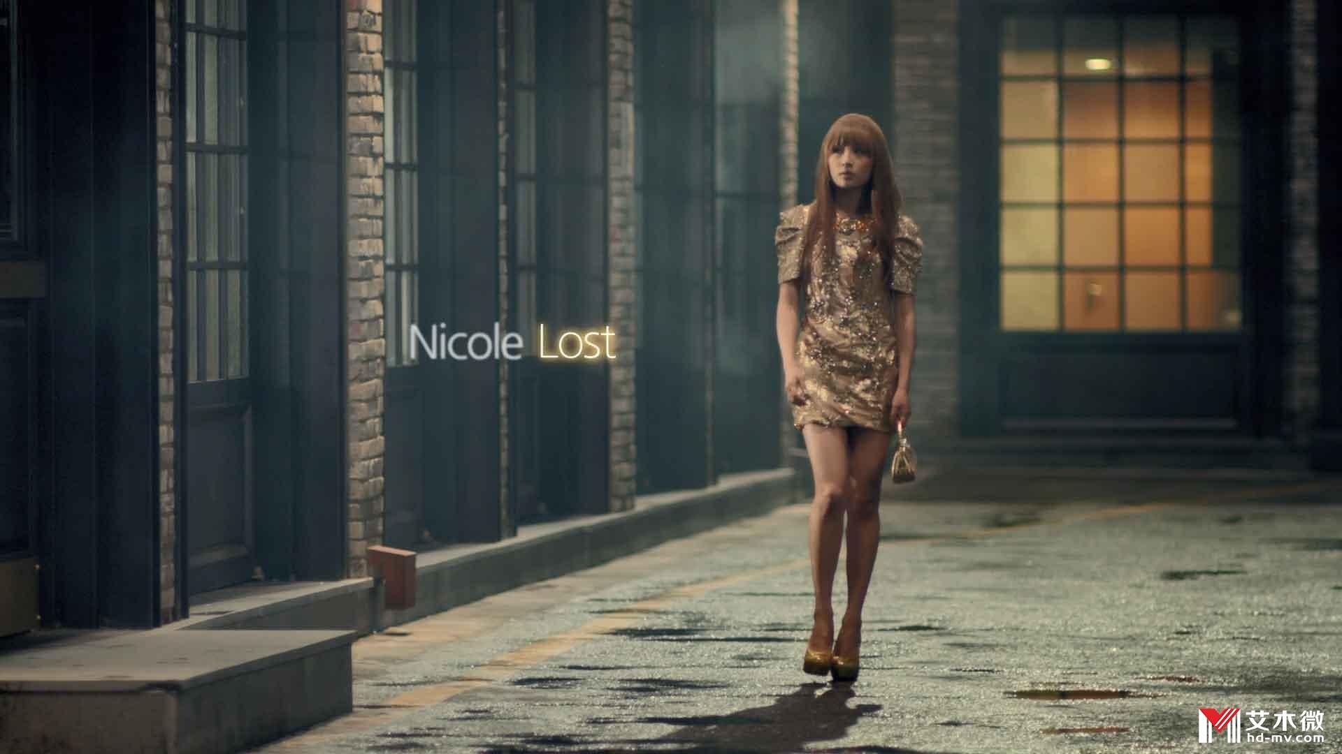 [1080P] Nicole(Kara) - Lost(feat Jinwoon of 2AM) (M2TS - 1.07G)