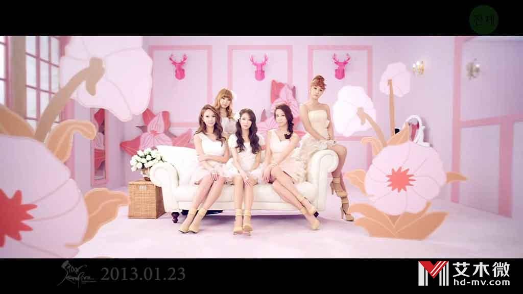 [1080P] Nine Muses - Dolls(GomTV - 254M)