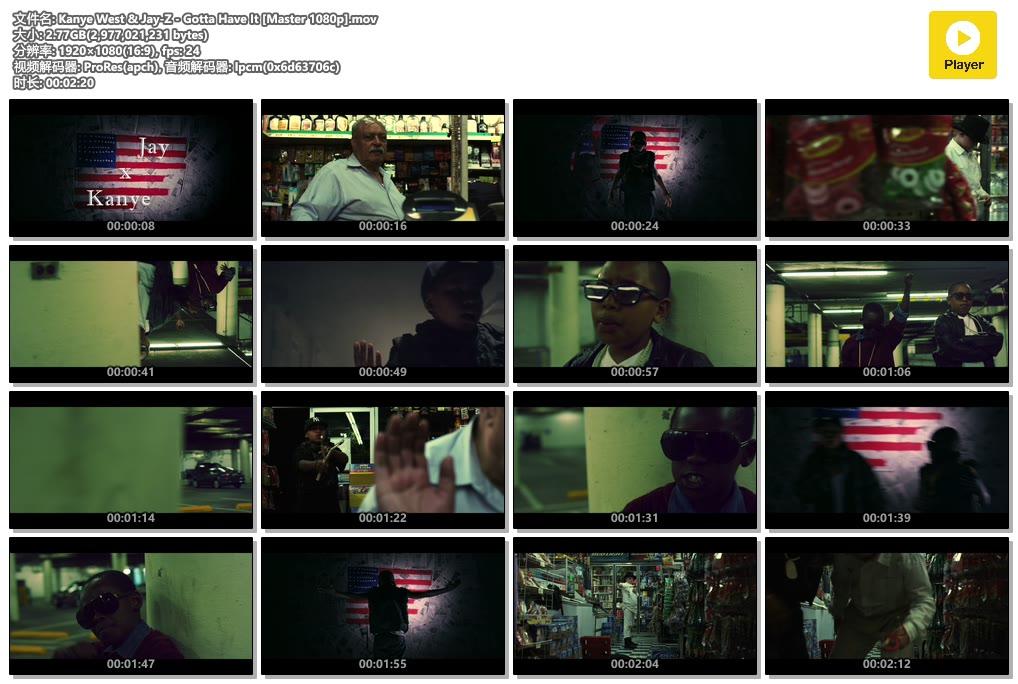 Kanye West & Jay-Z - Gotta Have It [Master 1080p].mov