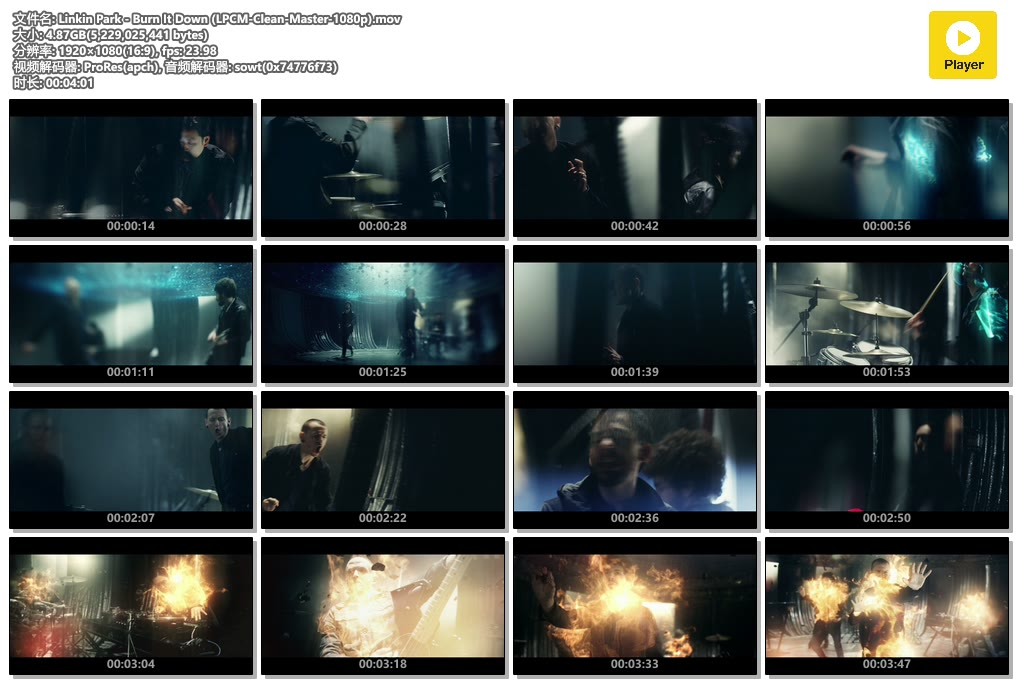Linkin Park - Burn It Down (LPCM-Clean-Master-1080p).mov