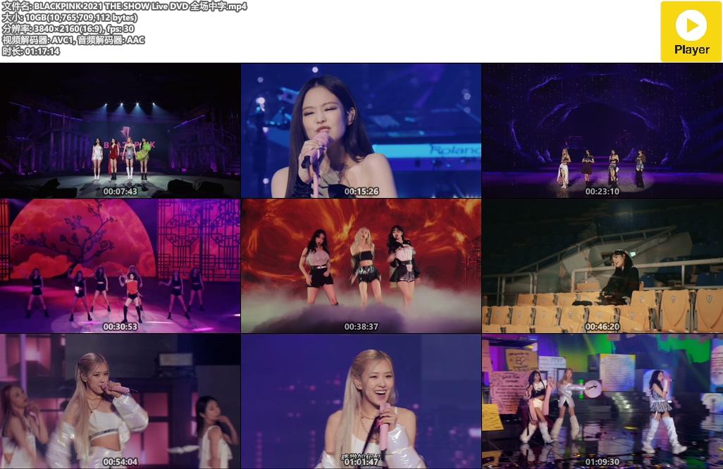 BLACKPINK 2021 THE SHOW Live DVD 全场中字.mp4